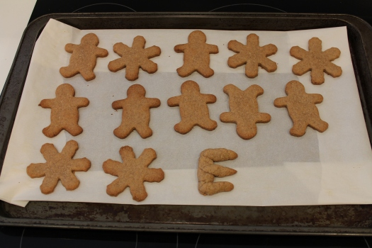Speculaas cookies - a very important part of the Sinterklaas tradition.