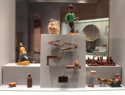 Examples of Shenadoah Valley folk art.
