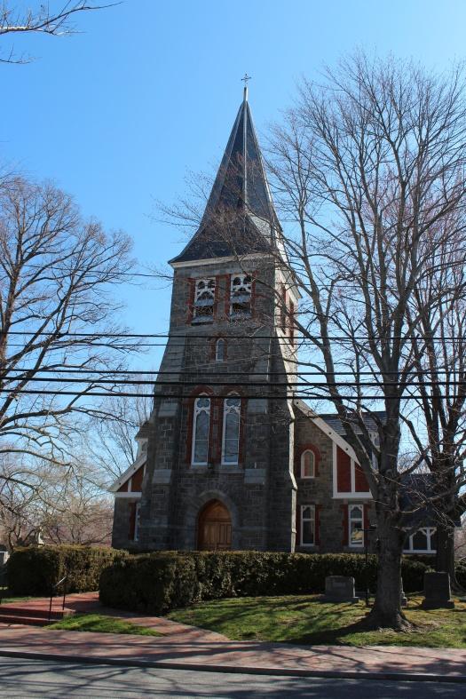 St Michaels Church, established in 1677.