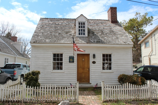There are so many quaint and carefully restored old homes in St Michaels. Many are now rented out as holiday homes.