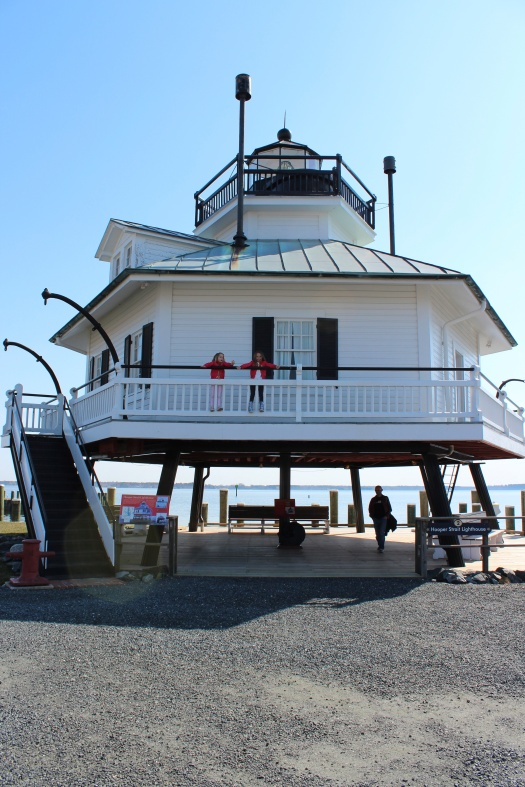 Exploring the Hooper Strait lighthouse which was originally built in 1879.