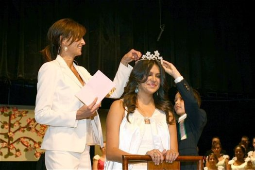 Coronation of 2011's Queen.