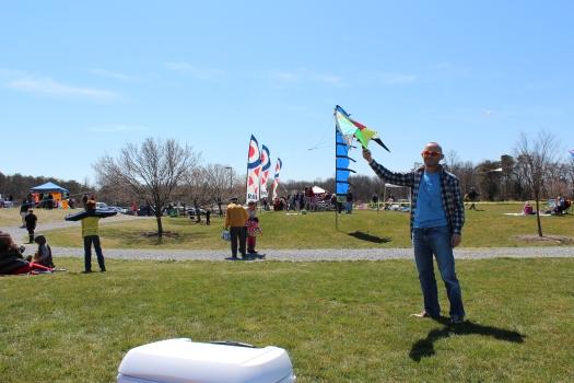 Kiwi kite runner.