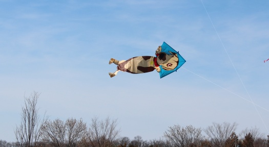 This dog kite was one of my favourites.
