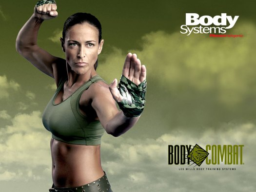 I used to look just like this when I did Body Combat..really!