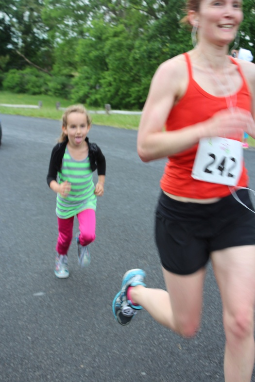 Olive helped me make it to the finish line :)