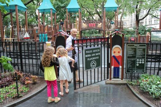 Great playground too.