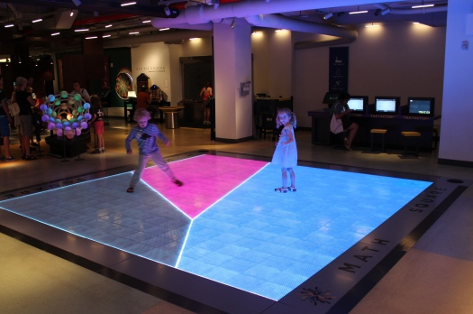 And the coolest light up dance floor!