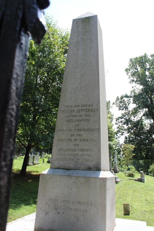TJ's final resting place.