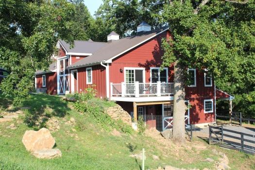 The barn at Cardinal Springs.