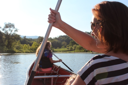 Yours truly getting my canoe on!