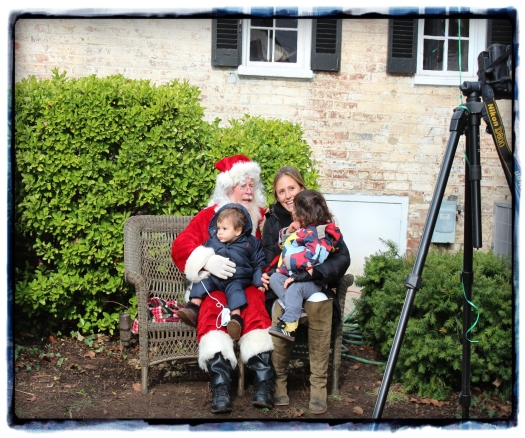 Father Christmas was there too - I'm trying to take a photo of strangers without looking like that's what I'm doing!!