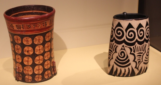 Ceramics from Central America was the focus of one of the exhibitions.