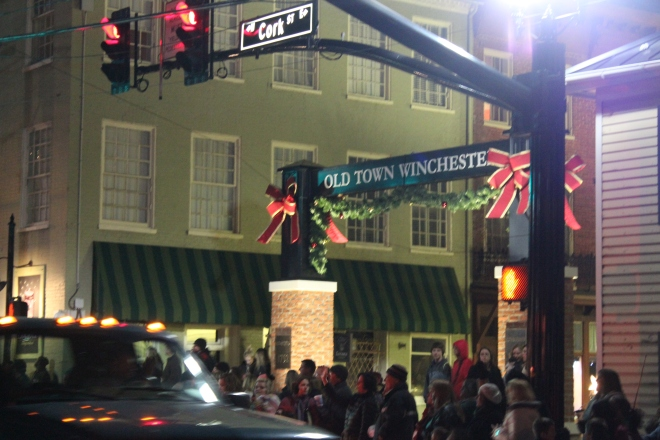Old Town Winchester all dressed up for her big night.