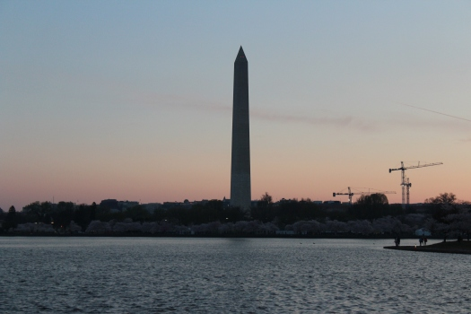 Early morning light on the Washington Monument.