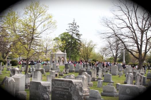 Mount Hebron Cemetery.