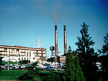 Hershey factory in the 1970's.