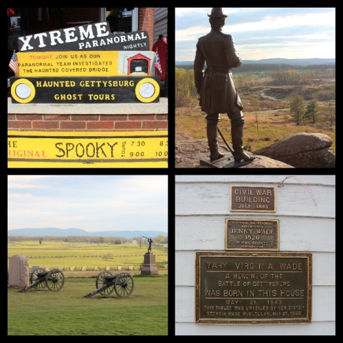 So many interesting things to experience in Gettysburg.