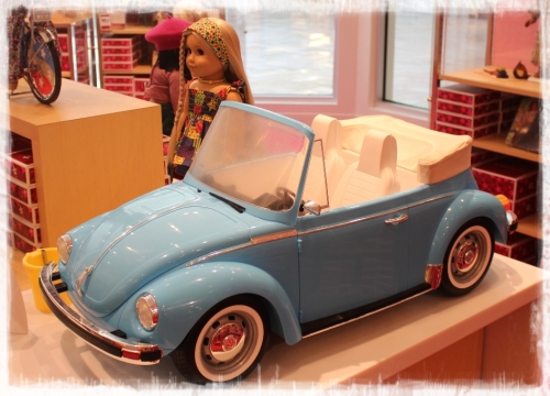 Julie from the 1970's is totally cool. She even has her own VW!