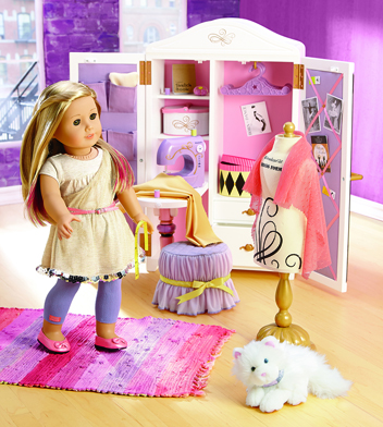 Isabelle is the girl of the year - in another stroke of marketing genius, a special doll is released for only one year...only 365 days to buy the clothes, ballet shoes, dance studio...aaaaaaaaah!!!