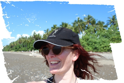 "Just in case you'd forgotten what I looked like...here is the obligatory ""I'm on a beach in Costa Rica"" selfie :)"
