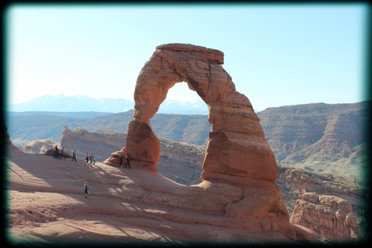 Delicate Arch in all her glory.
