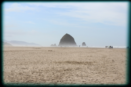 Haystack Rock at Cannon Beach. Had such a great day there we have booked to go back for a weekend in October.